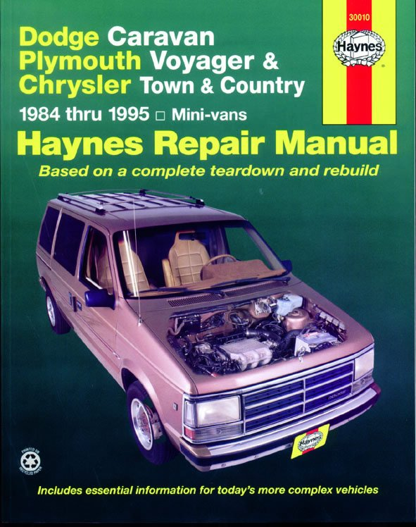 [Manuel US en Anglais] Dodge & Plymouth Mini Vans  '84 -  '95