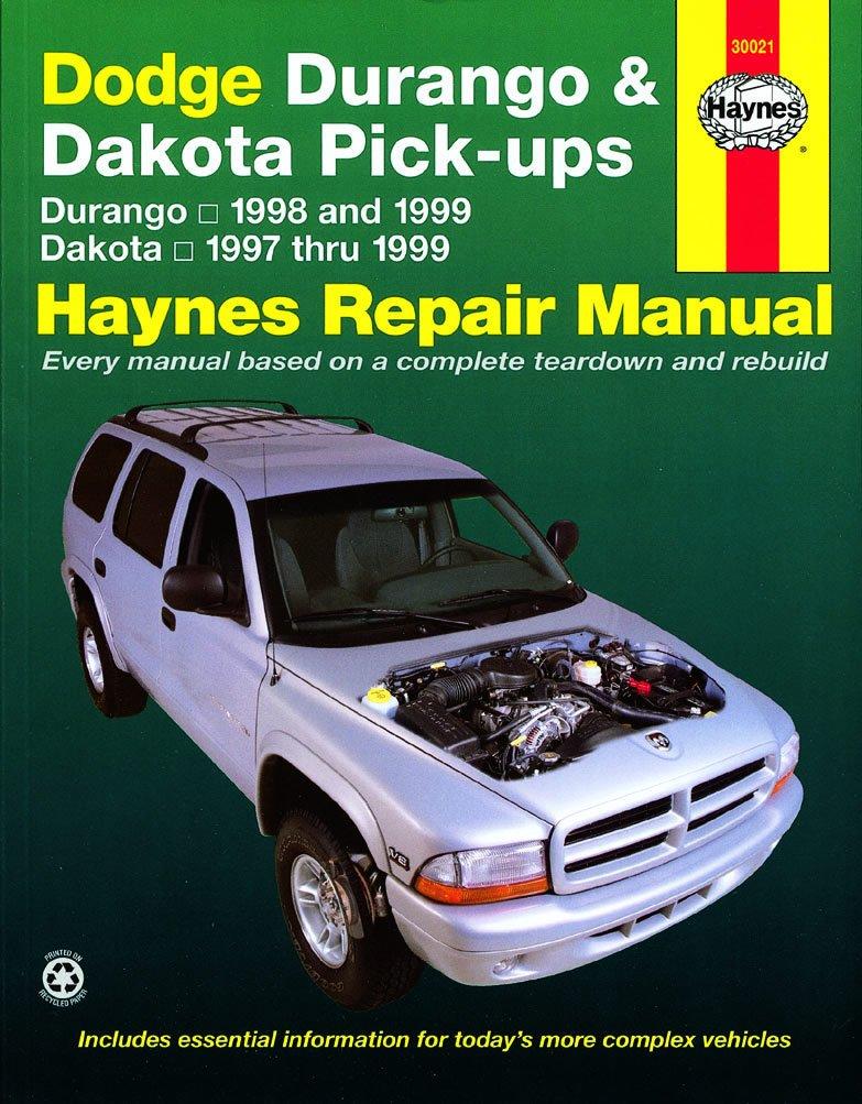 [Manuel US en Anglais] Dodge Durango  '98 -  '99 & Dakota  '97 -  '99