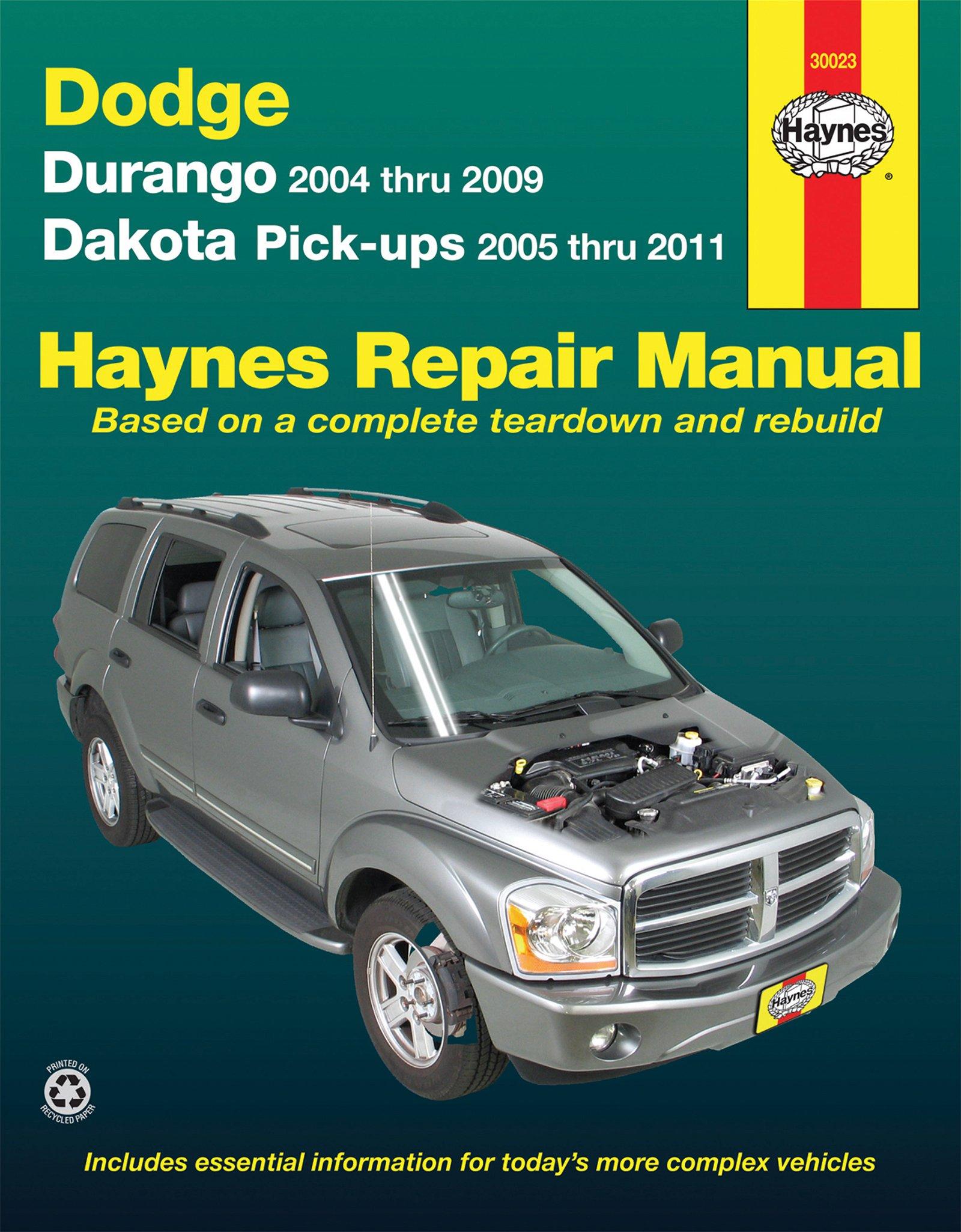 [Manuel US en Anglais] Dodge Durango  '04 -  '09; Dakota  '05 -  '11