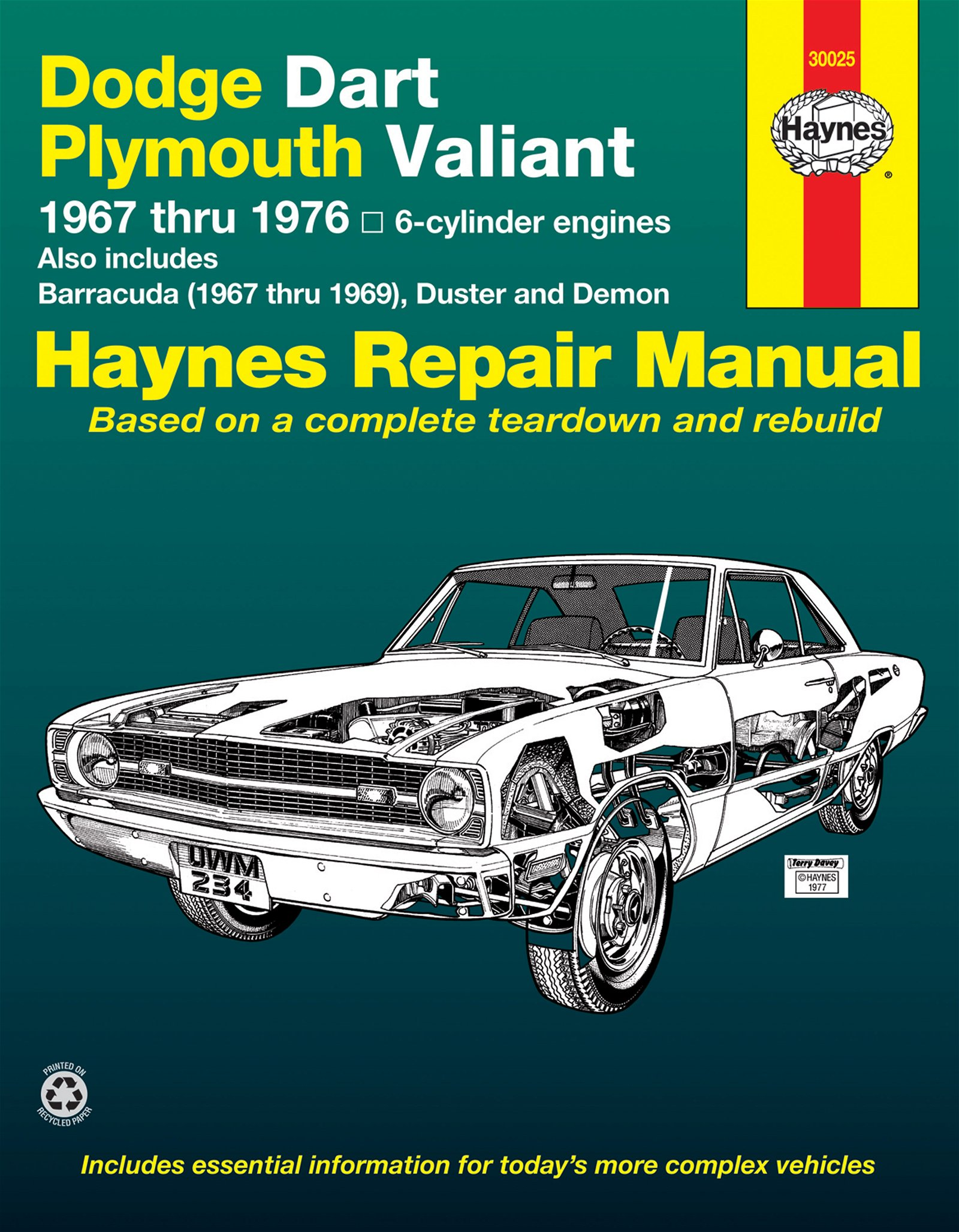 [Manuel US en Anglais] Dodge Dart/Plymouth Valiant  '67 -  '76