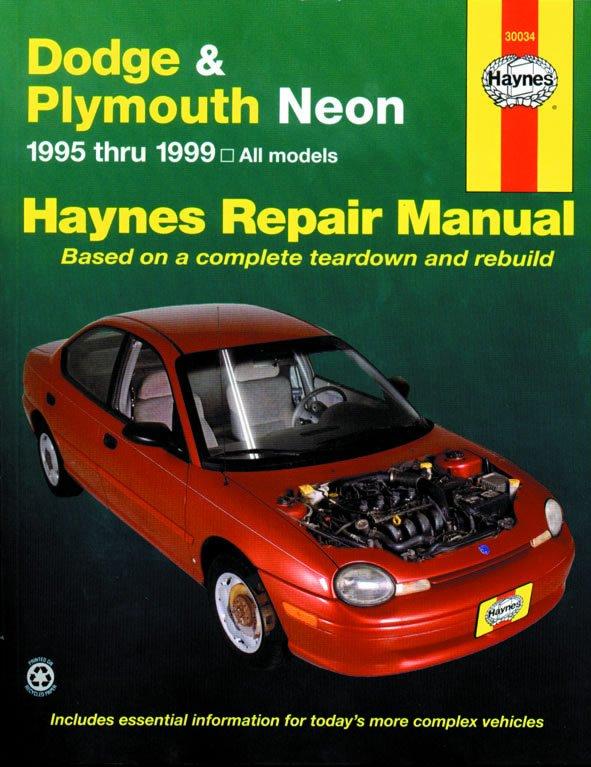 [Manuel US en Anglais] Dodge/Plymouth Neon  '95 -  '99