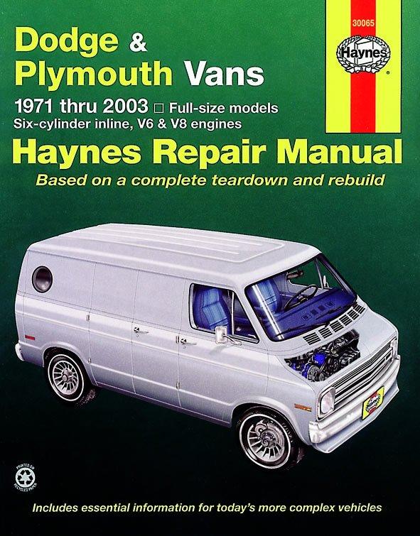 [Manuel US en Anglais] Dodge & Plymouth Vans  '71 -  '03