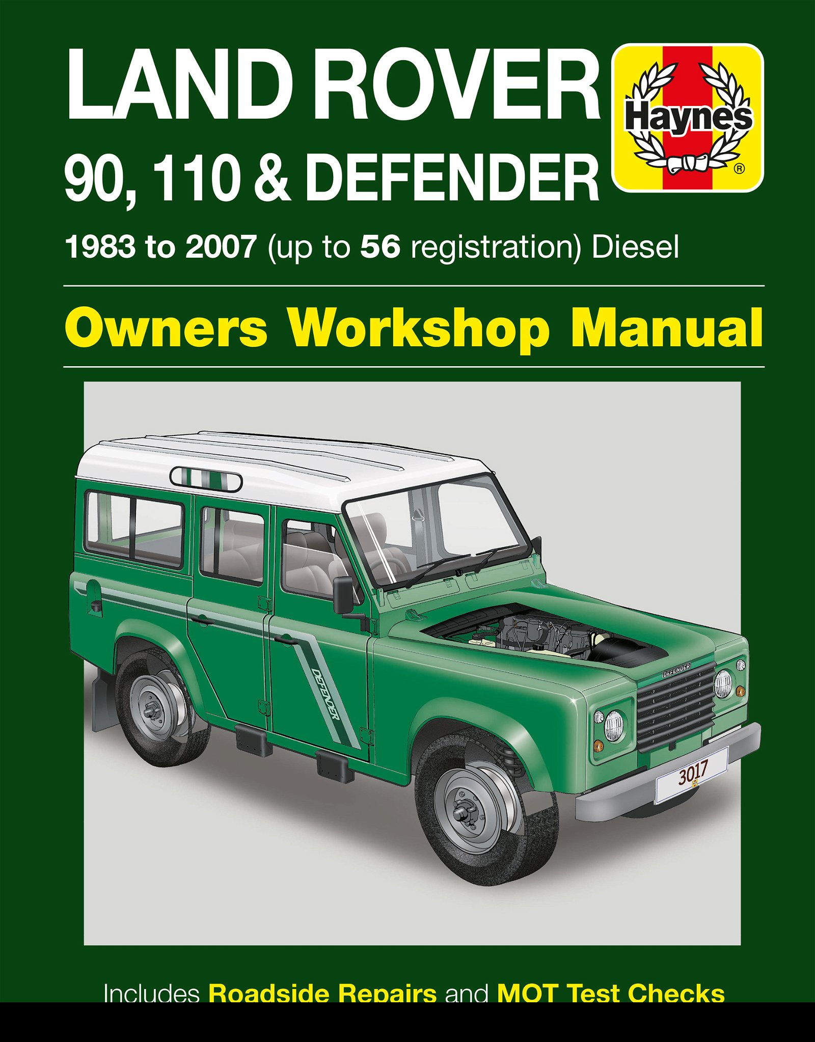 [Manuel UK en Anglais] Land Rover 90, 110 & Defender Diesel  (83 - 07)  up to 56