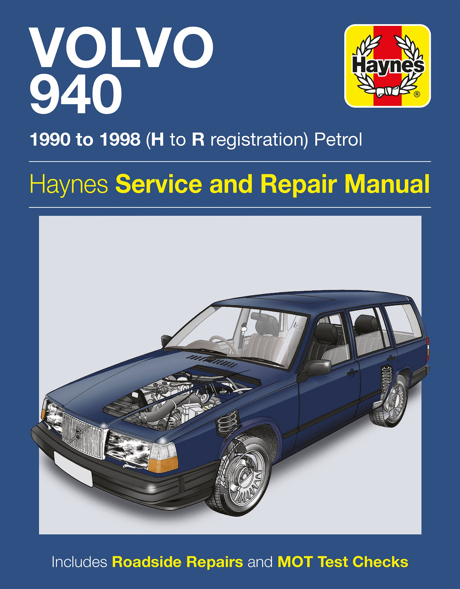 [Manuel UK en Anglais] Volvo 940 Petrol  (90 - 98)  H to R
