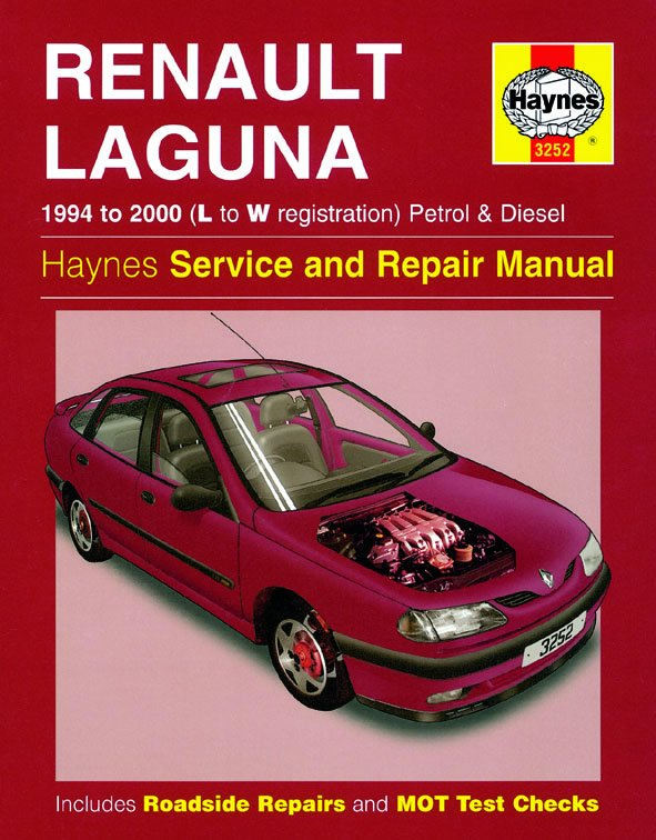 [Manuel UK en Anglais] Renault Laguna Petrol & Diesel  (94 - 00)  L to W