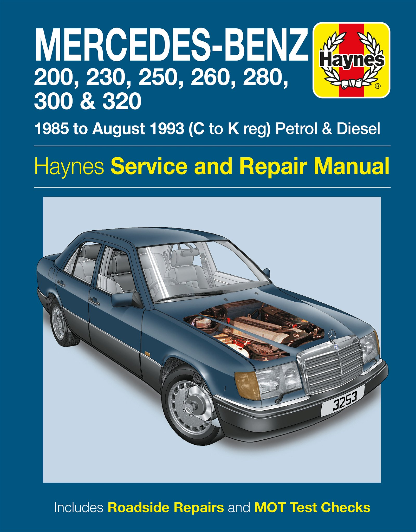 [Manuel UK en Anglais] Mercedes-Benz 124 Series Petrol & Diesel  (85 - Aug 93)  C to K