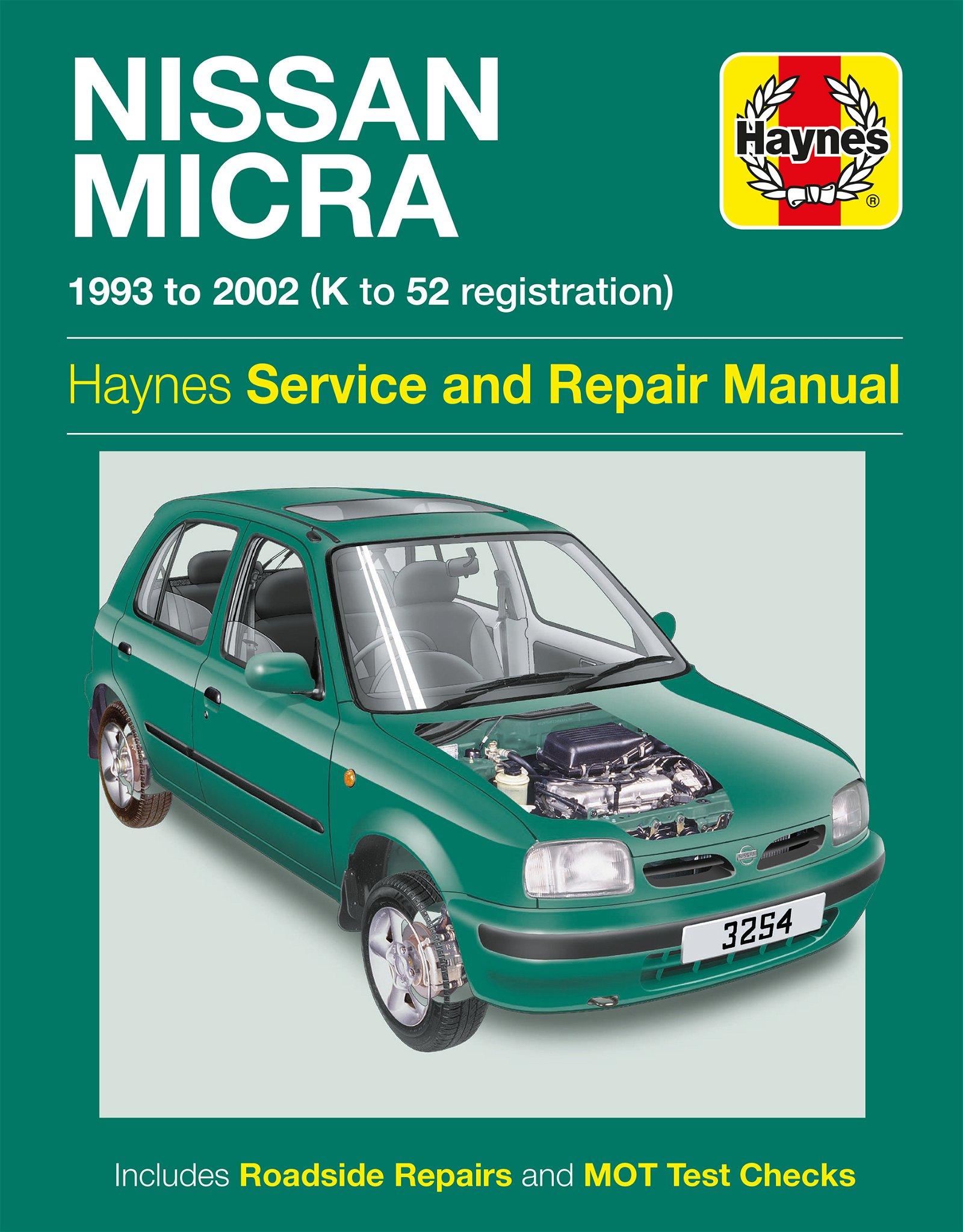 [Manuel UK en Anglais] Nissan Micra  (93 - 02)  K to 52