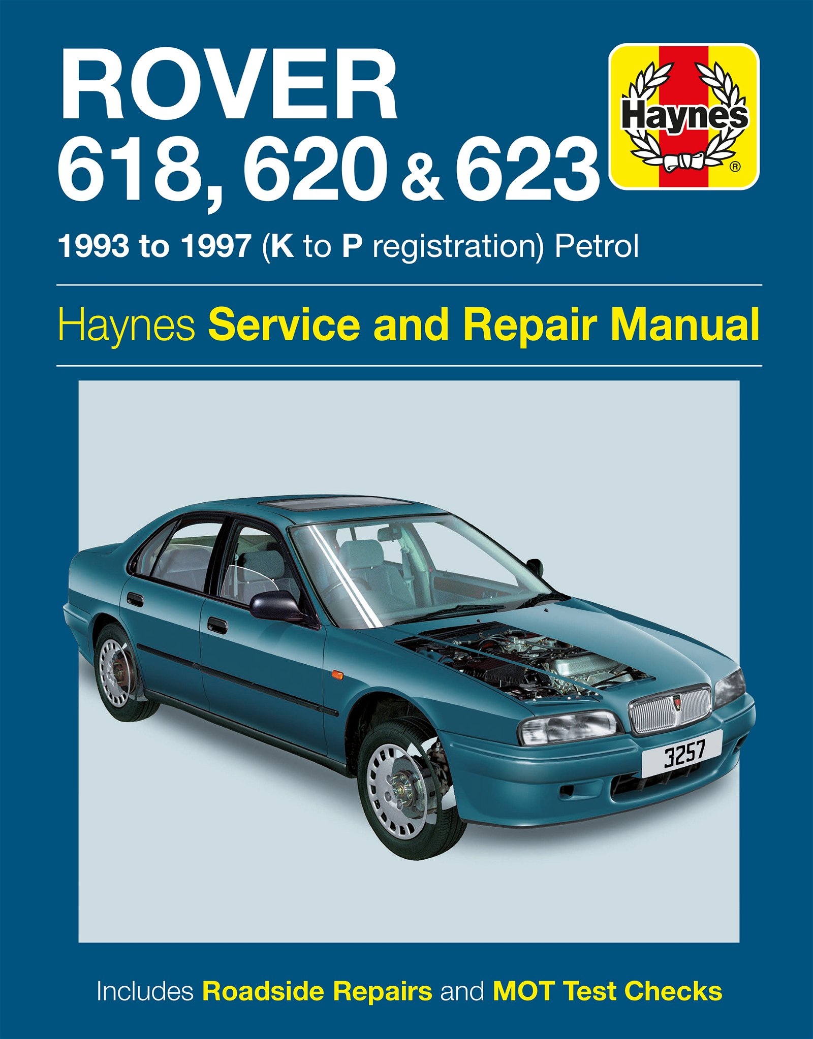 [Manuel UK en Anglais] Rover 618, 620 & 623 Petrol  (93 - 97)  K to P