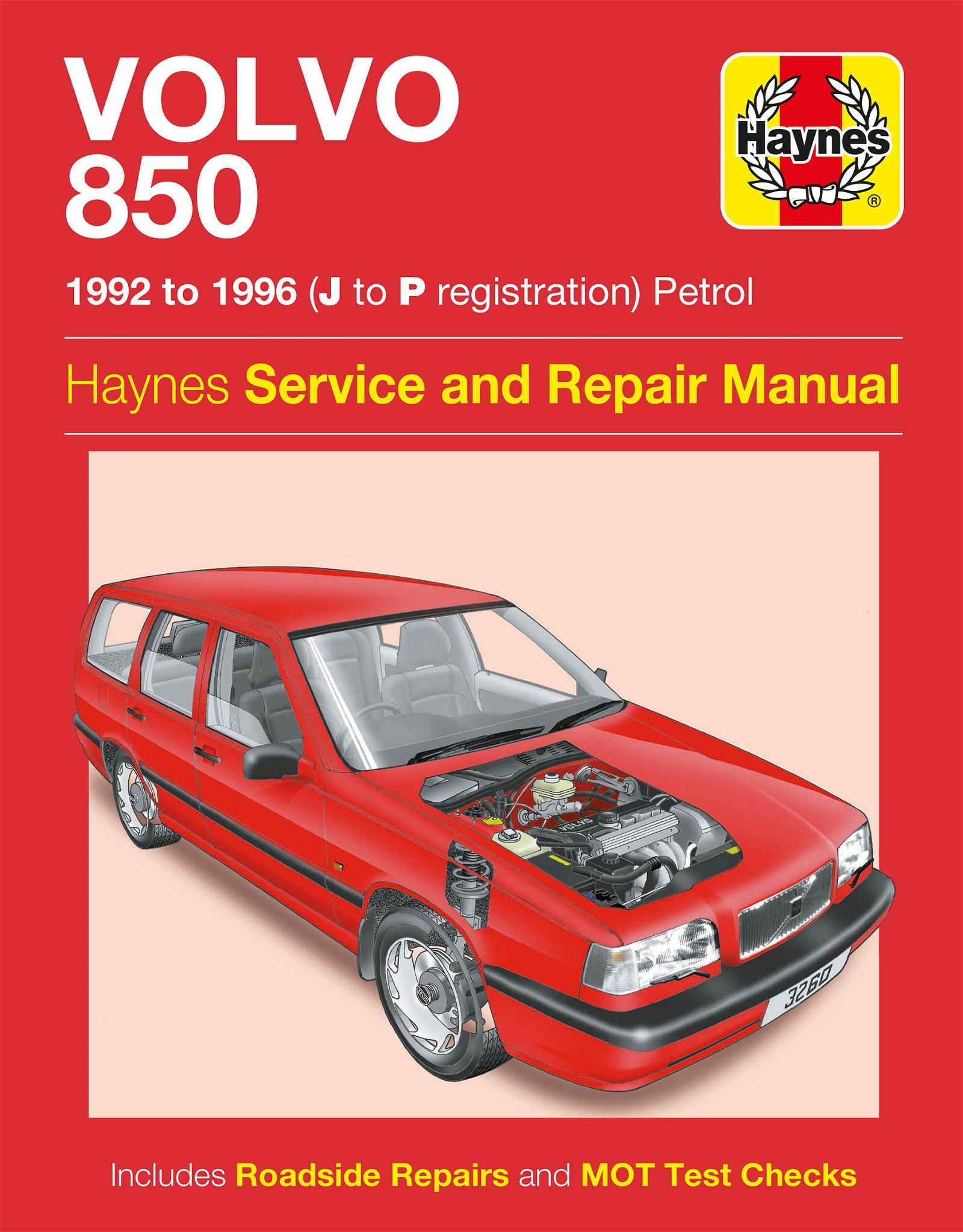 [Manuel UK en Anglais] Volvo 850 Petrol  (92 - 96)   J to P