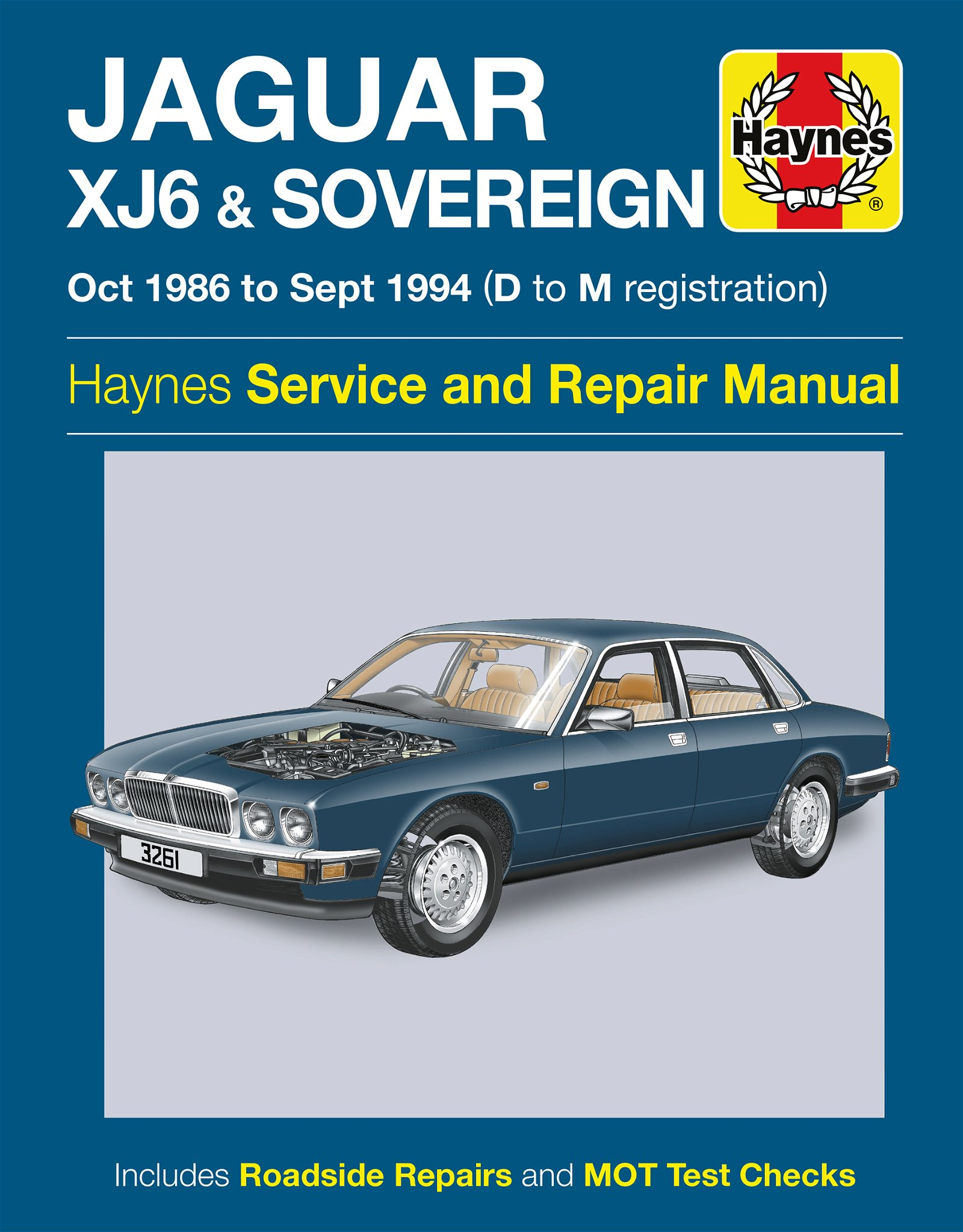 [Manuel UK en Anglais] Jaguar XJ6 & Sovereign  (Oct 86 - Sept 94)  D to M