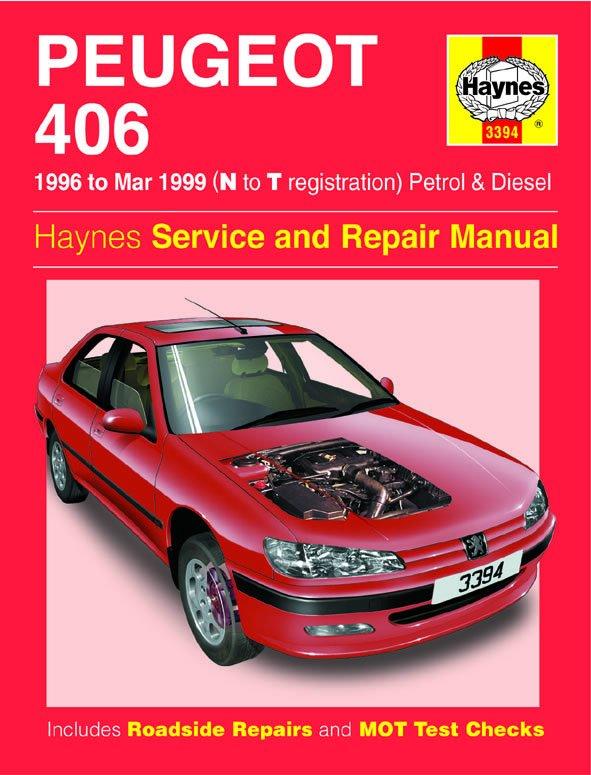 [Manuel UK en Anglais] Peugeot 406 Petrol & Diesel  (96 - Mar 99)  N to T