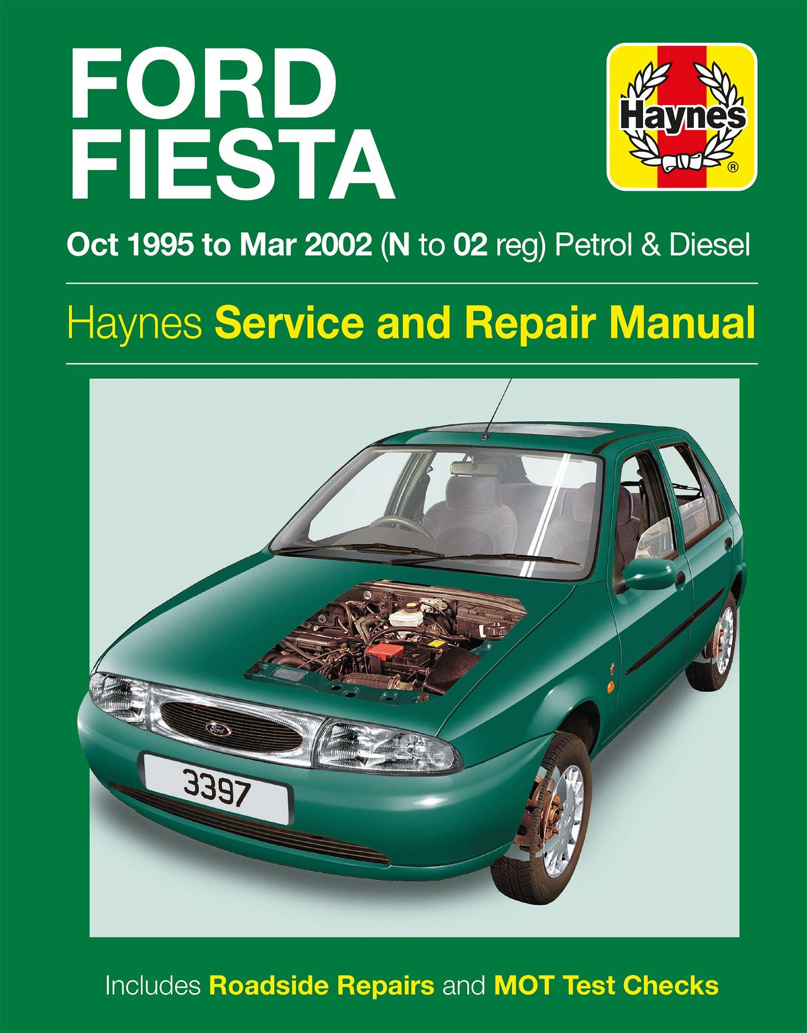 [Manuel UK en Anglais] Ford Fiesta Petrol & Diesel  (Oct 95 - Mar 02)  N to 02