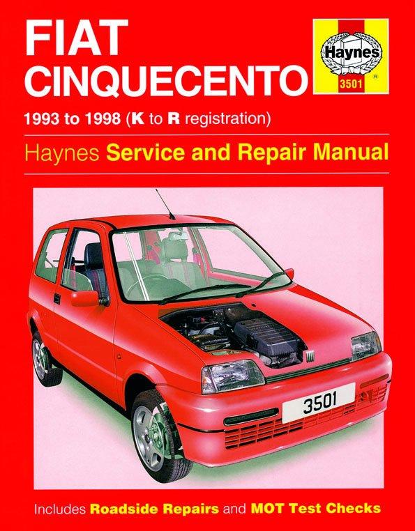 [Manuel UK en Anglais] Fiat Cinquecento  (93 - 98)  K to R