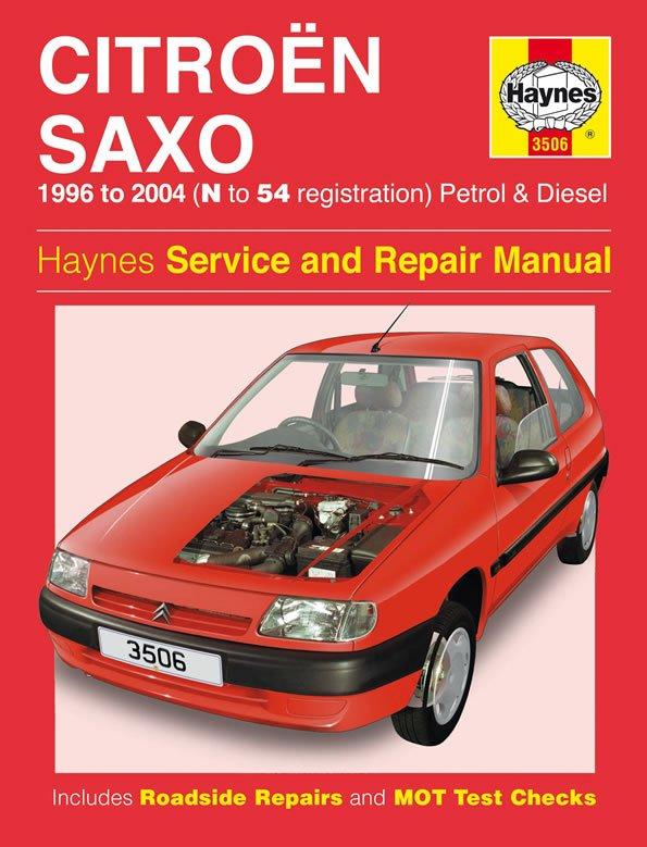 [Manuel UK en Anglais] Citroën Saxo Petrol & Diesel  (96 - 04)  N to 54