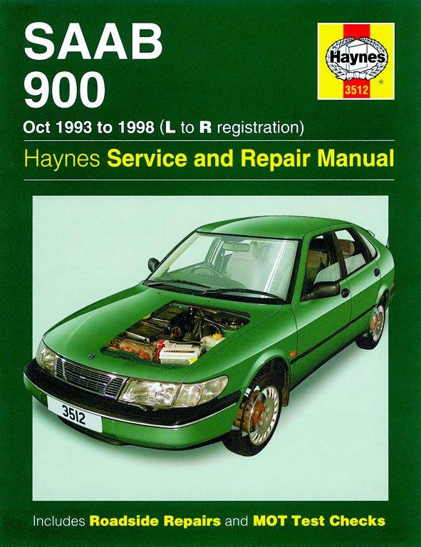 [Manuel UK en Anglais] Saab 900  (Oct 93 - 98)  L to R
