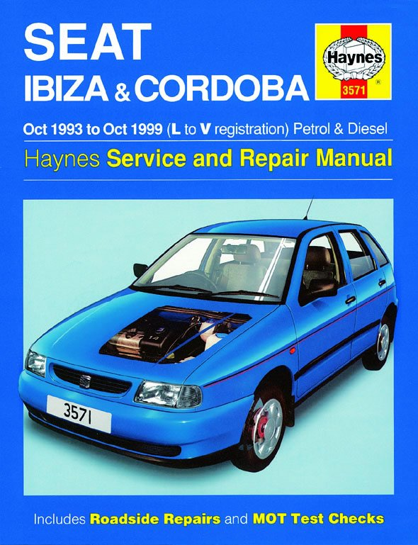[Manuel UK en Anglais] Seat Ibiza & Cordoba Petrol & Diesel  (Oct 93 - Oct 99)  L to V