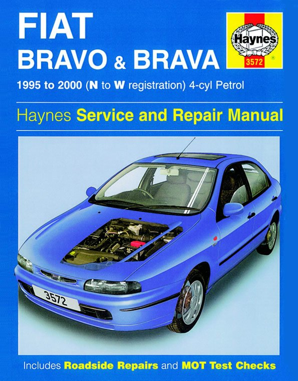 [Manuel UK en Anglais] Fiat Bravo & Brava Petrol  (95 - 00)  N to W