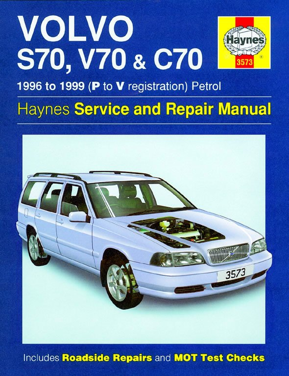 [Manuel UK en Anglais] Volvo S70, V70 & C70 Petrol  (96 - 99)  P to V