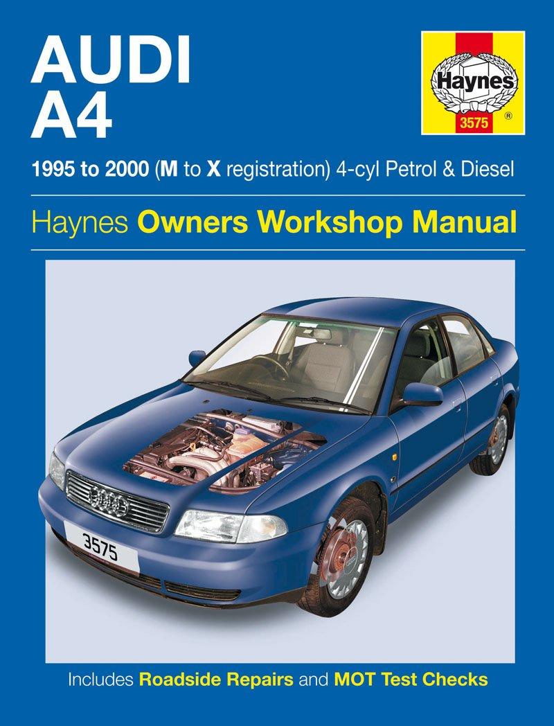 [Manuel UK en Anglais] Audi A4 Petrol & Diesel  (95 - 00)  M to X