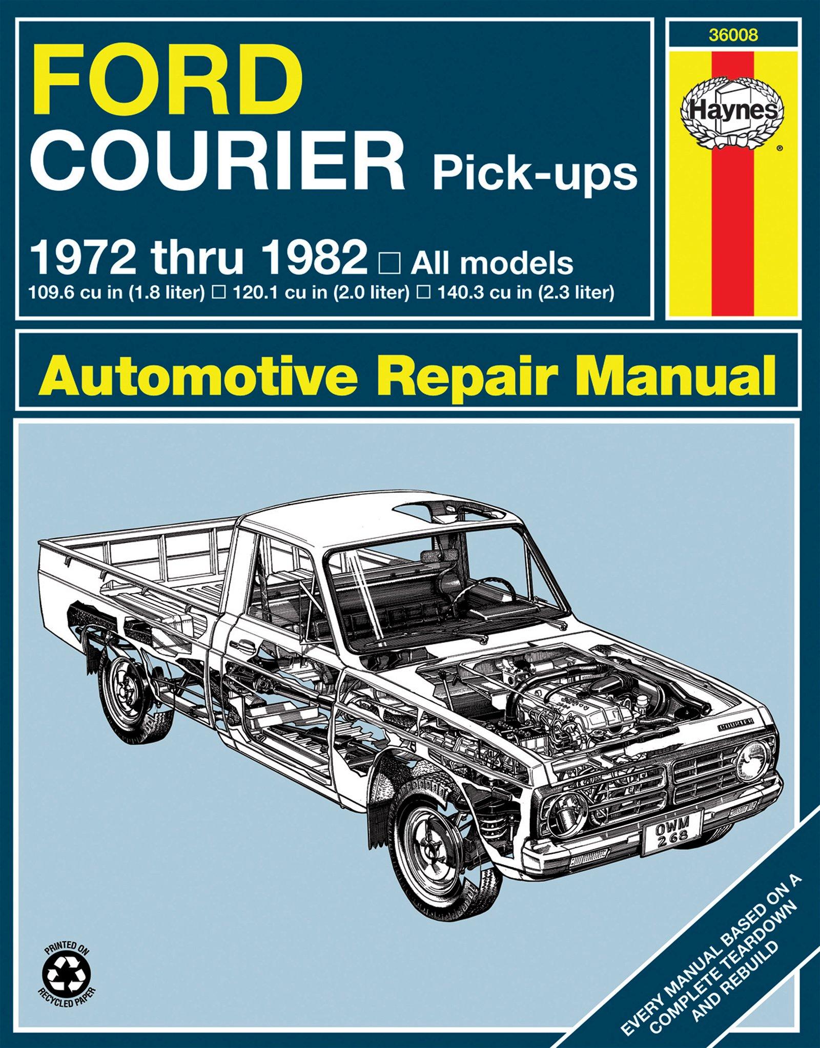 [Manuel US en Anglais] Ford Courier Pick-up  '72 -  '82