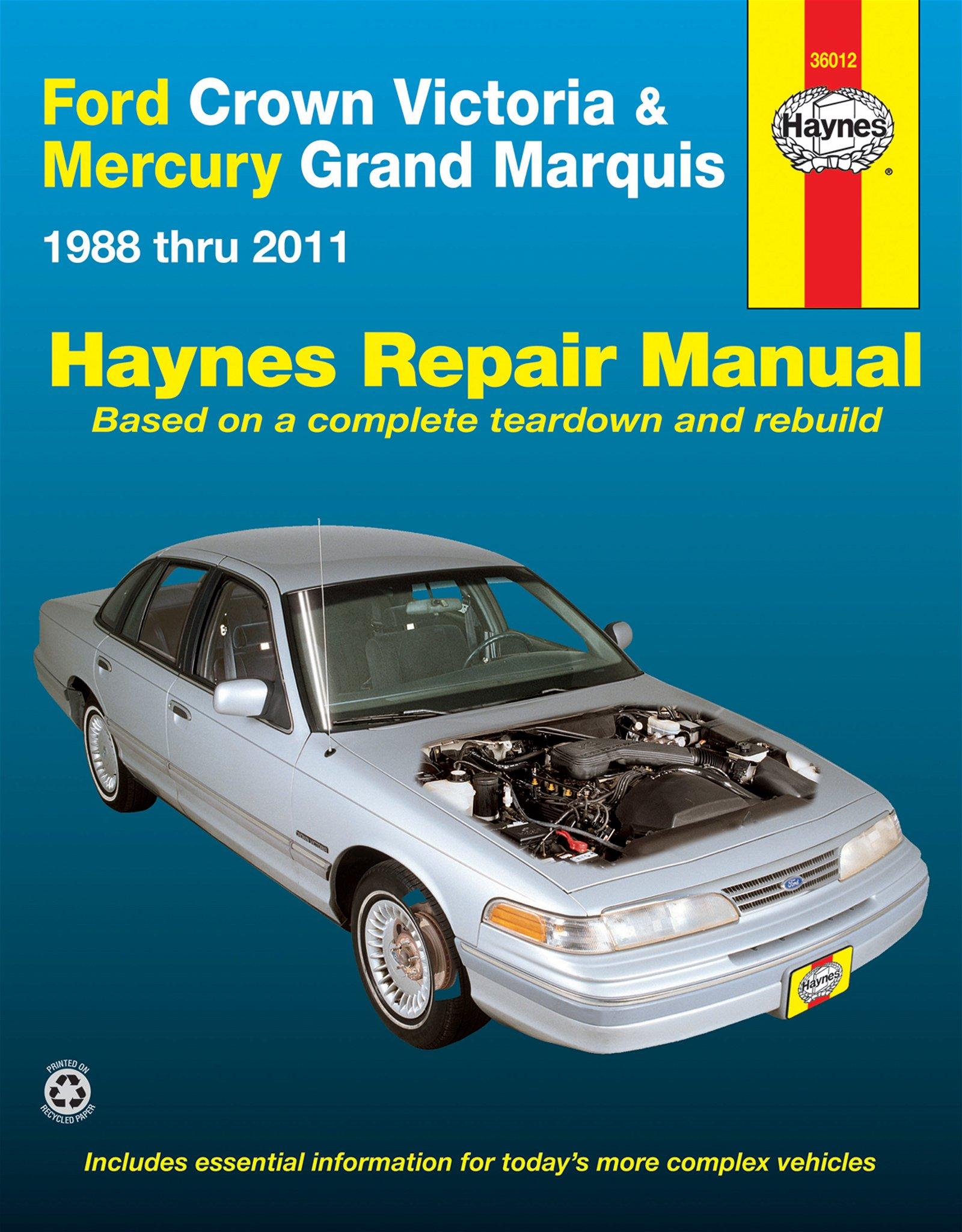 [Manuel US en Anglais] Ford Crown Victoria & Mercury Grand Marquis  '88 -  '11