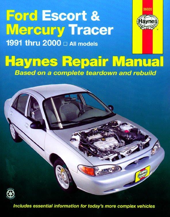 [Manuel US en Anglais] Ford Escort & Mercury Tracer  '91 -  '02