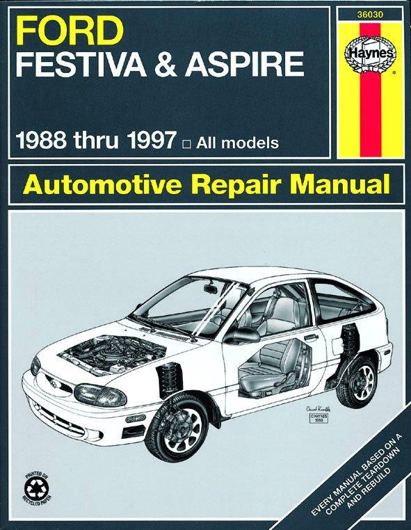 [Manuel US en Anglais] Ford Festiva & Aspire  '88 -  '97