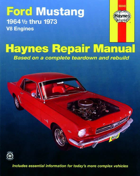 [Manuel US en Anglais] Ford Mustang V8  '64 1/2 -  '73