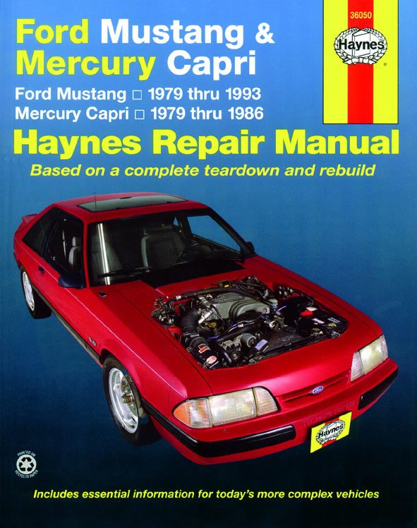 [Manuel US en Anglais] Ford Mustang/Mercury Capri  '79 -  '93