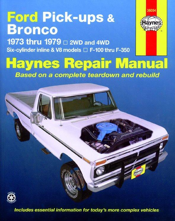 [Manuel US en Anglais] Ford Pick-ups & Bronco  '73 -  '79