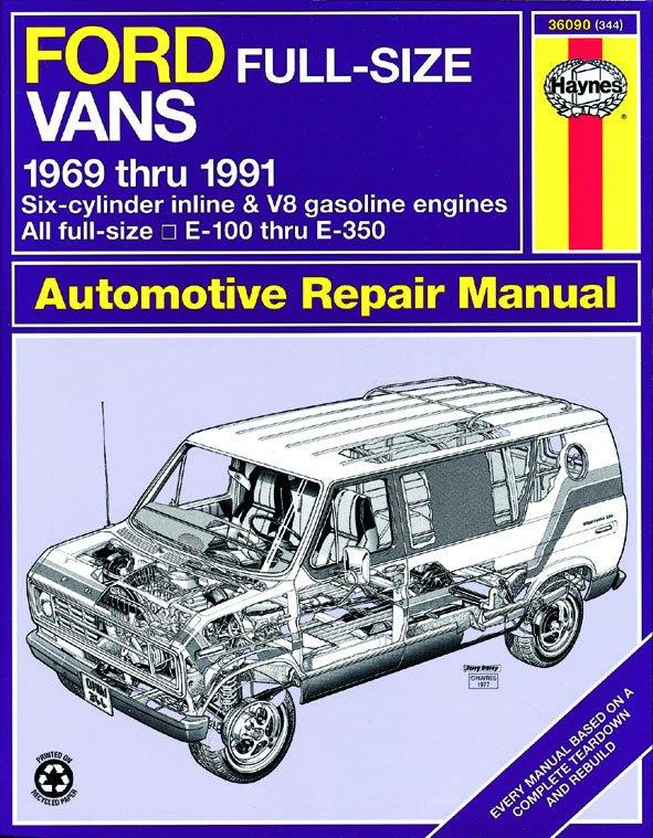 [Manuel US en Anglais] Ford Full-Size Vans  '69 -  '91