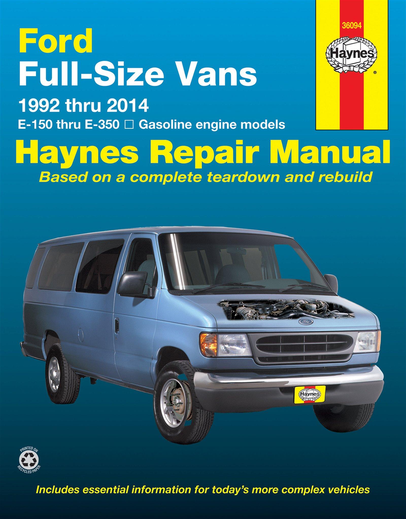 [Manuel US en Anglais] Ford Full-Size Vans  '92 -  '14