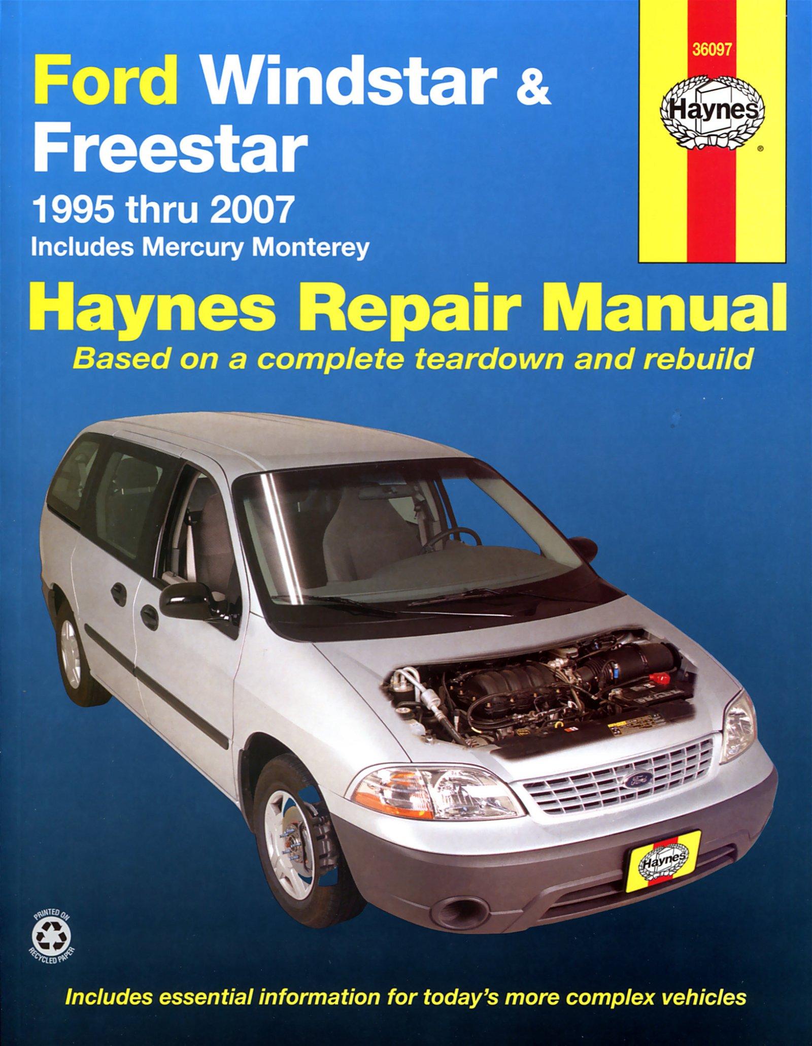 [Manuel US en Anglais] Ford Windstar & Freestar  '95 -  '07