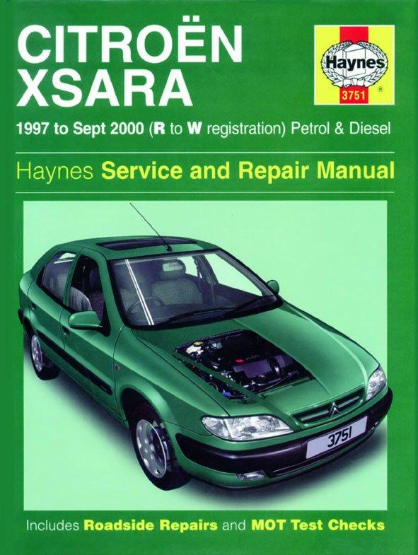 [Manuel UK en Anglais] Citroën Xsara Petrol & Diesel  (97 - Sept 00)  R to W
