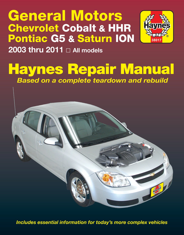 [Manuel US en Anglais] GM: Chevrolet Cobalt & Pontiac G5  '05 - 10'