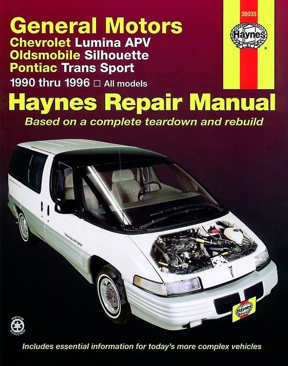 [Manuel US en Anglais] GM: Lumina APV, Silhouette, Trans Sport  '90 -  '96