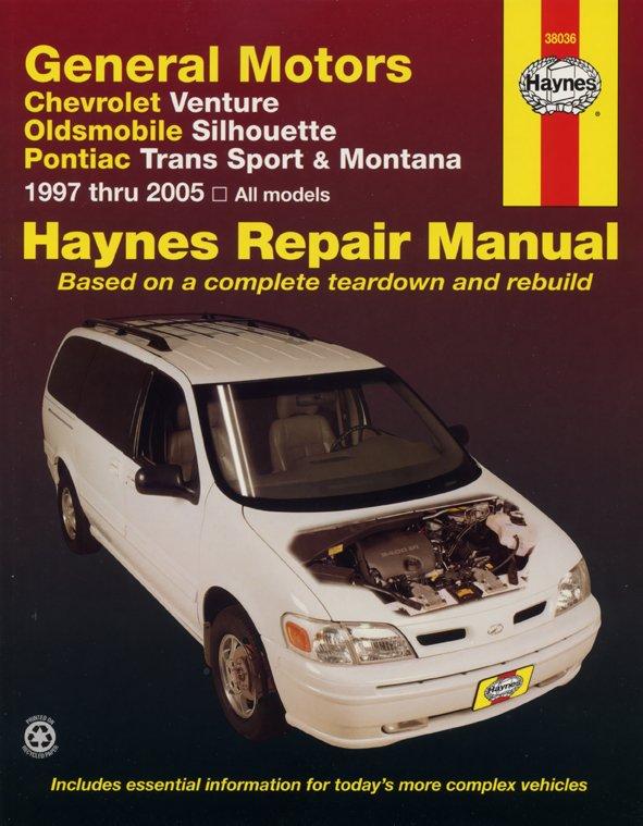 [Manuel US en Anglais] GM: Venture, Silhouette, Trans Sport, Montana  '97 - 05