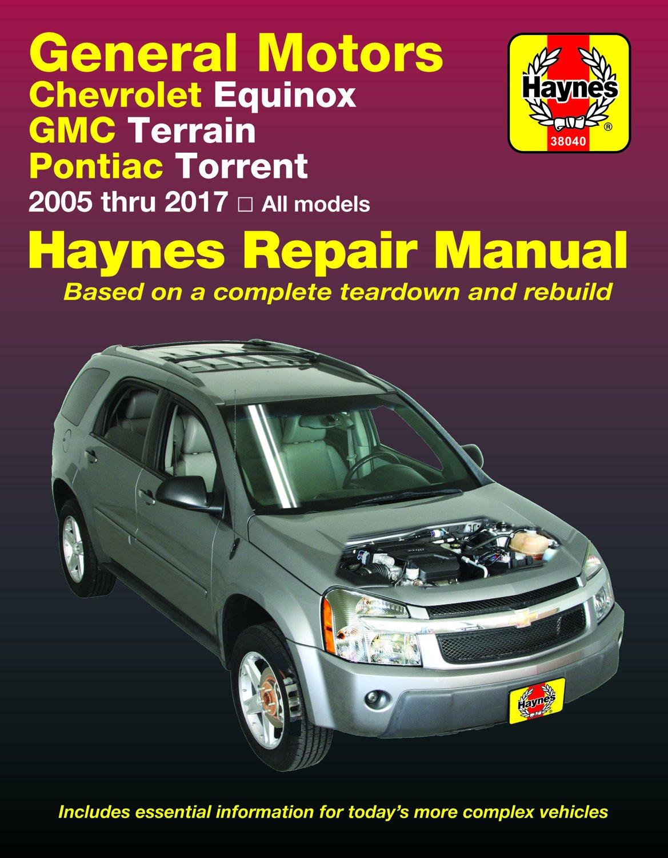 [Manuel US en Anglais] Chevrolet Equinox & Pontiac Torrent (05-17)