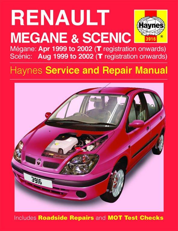 [Manuel UK en Anglais] Renault Mégane & Scénic Petrol & Diesel  (Apr 99 - 02)  T to 52