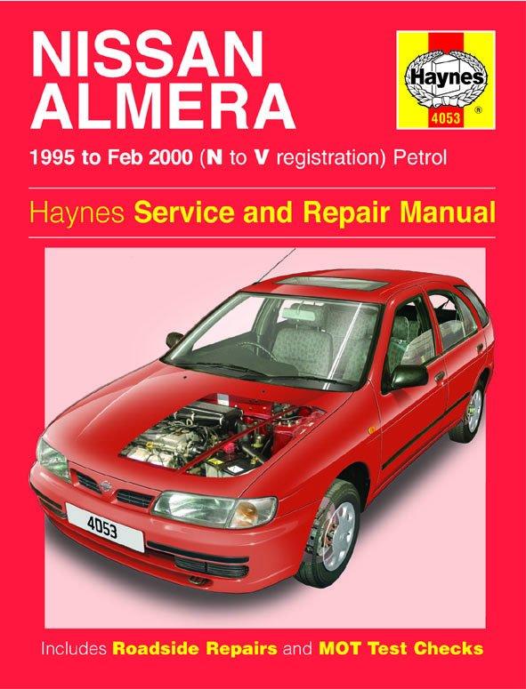 [Manuel UK en Anglais] Nissan Almera Petrol  (95 - Feb 00)  N to V
