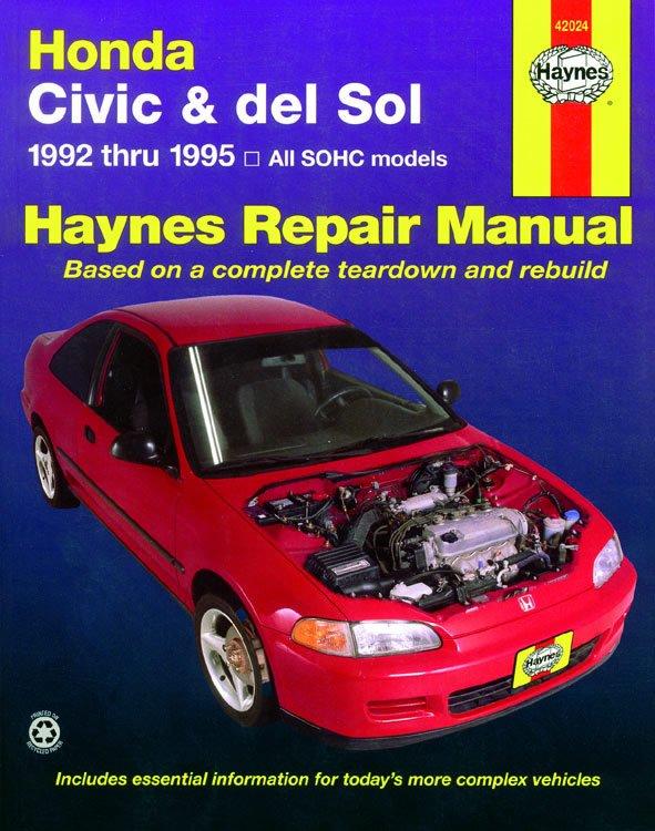 [Manuel US en Anglais] Honda Civic  '92 -  '95