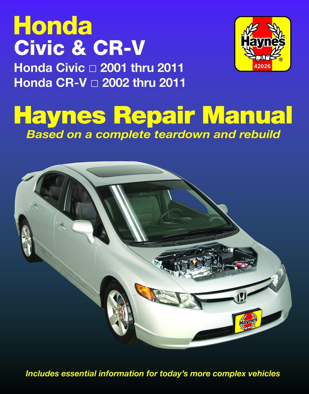 [Manuel US en Anglais] Honda Civic & CR-V  '01 -  '11