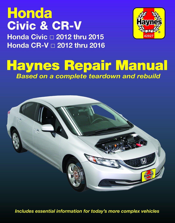 [Manuel US en Anglais] Honda Civic  '12 -  '15 & CR-V  '12 -  '16