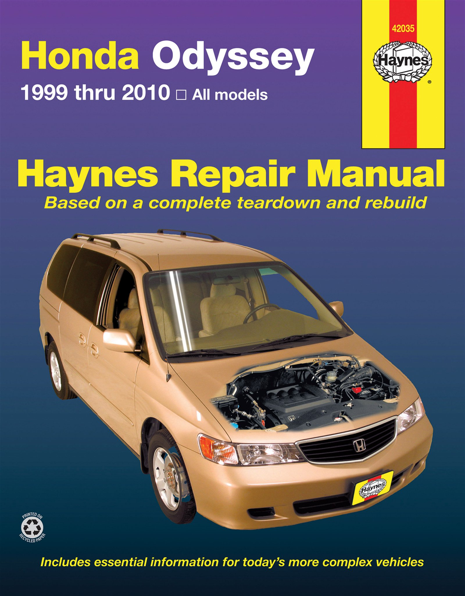 [Manuel US en Anglais] Honda Odyssey  '99 -  '10