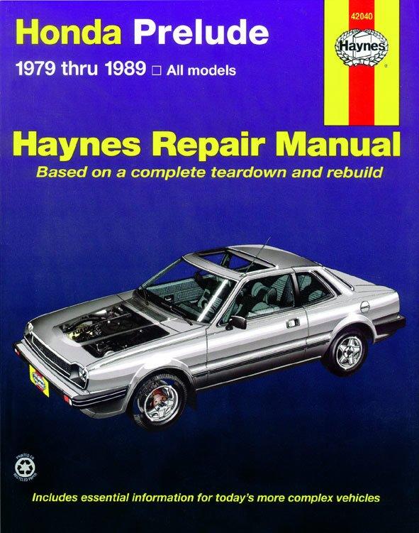 [Manuel US en Anglais] Honda Prelude CVCC  '79 -  '89