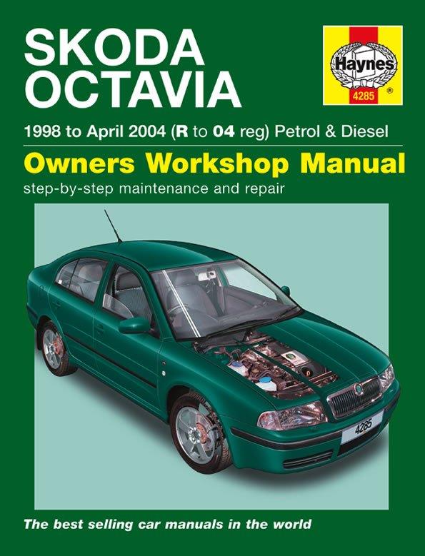 [Manuel UK en Anglais] Skoda Octavia Petrol & Diesel  (98 - Apr 04)  R to 04