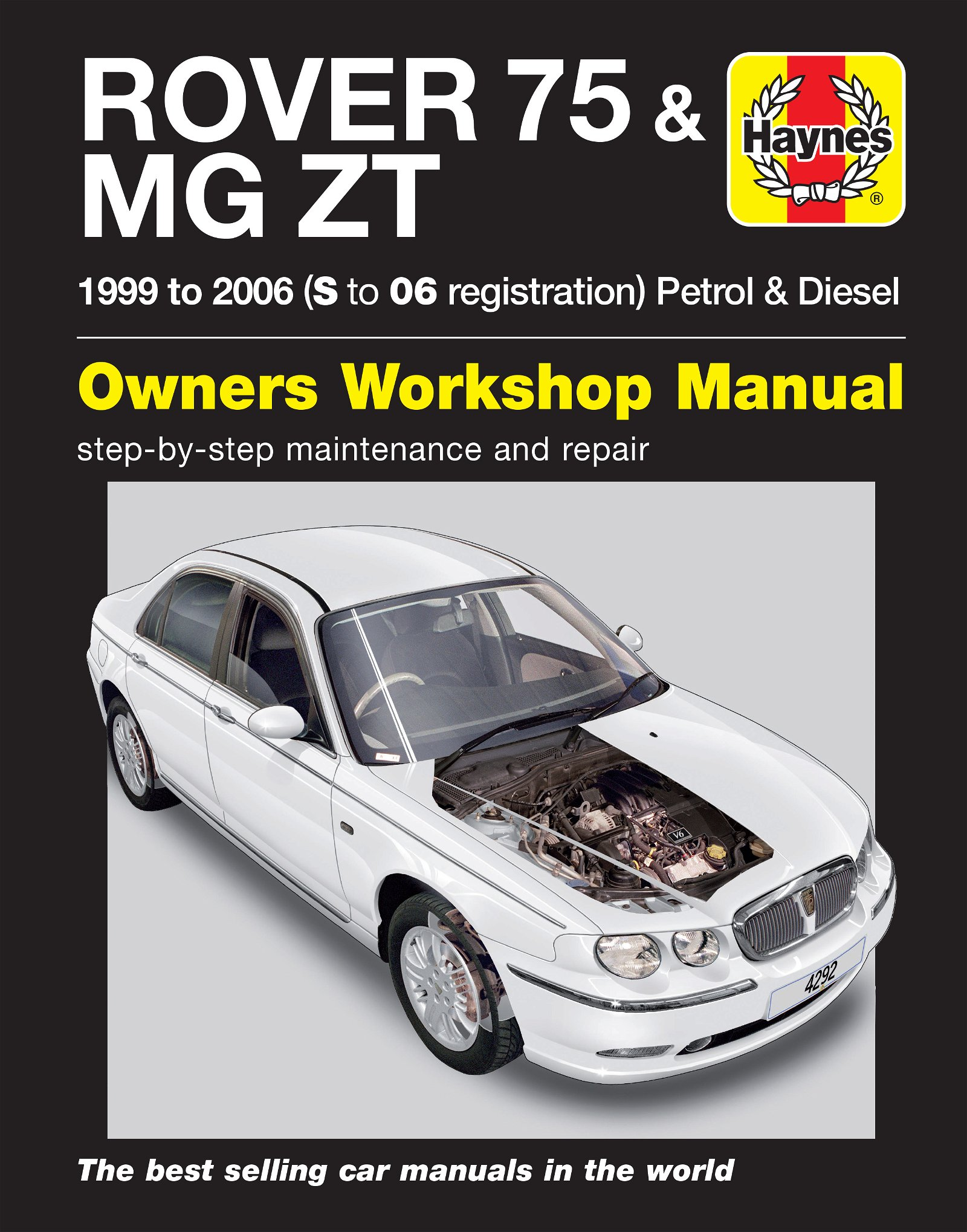 [Manuel UK en Anglais] Rover 75 / MG ZT Petrol & Diesel  (99 - 06)   S to 06