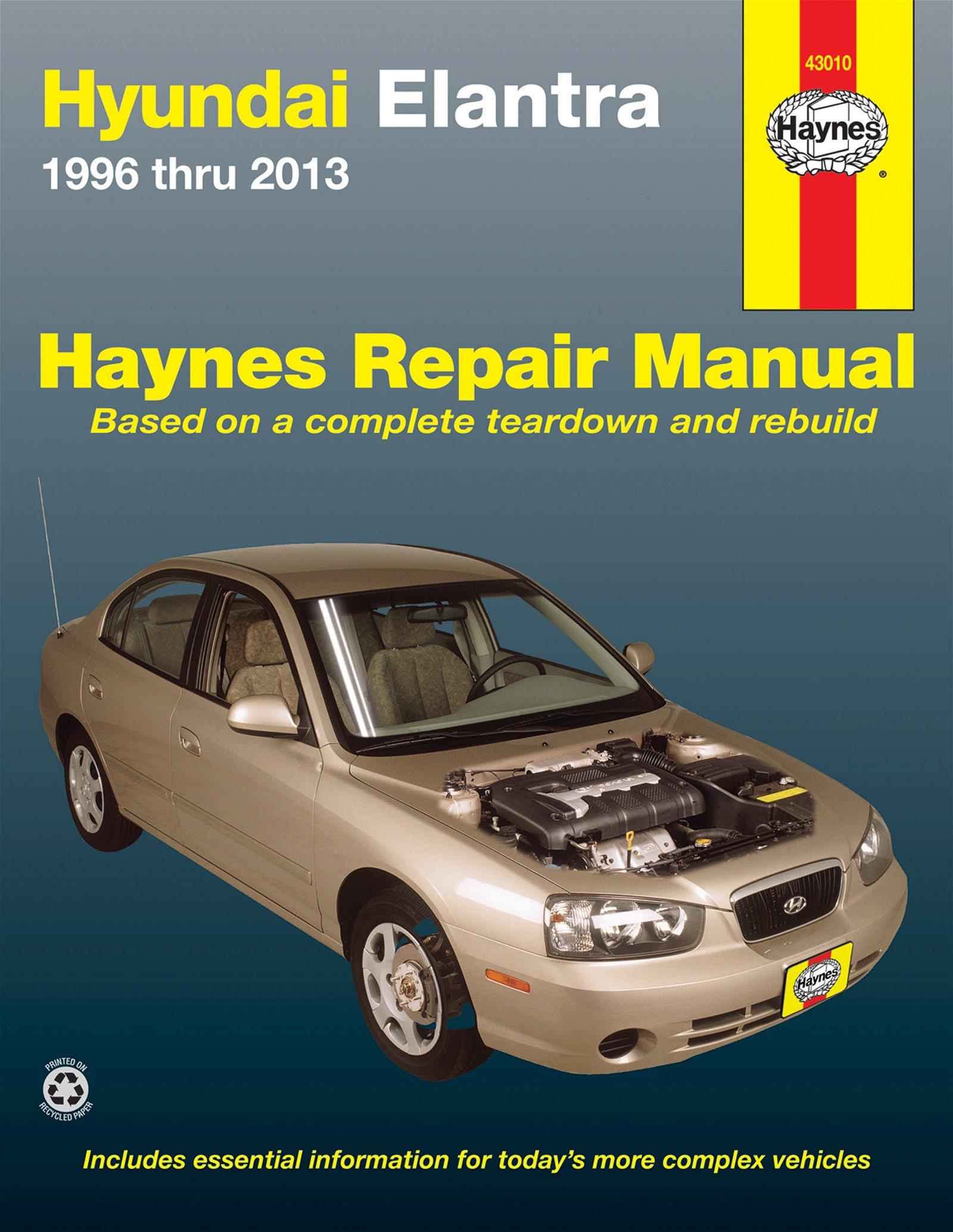 [Manuel US en Anglais] Hyundai Elantra  '96 -  '13
