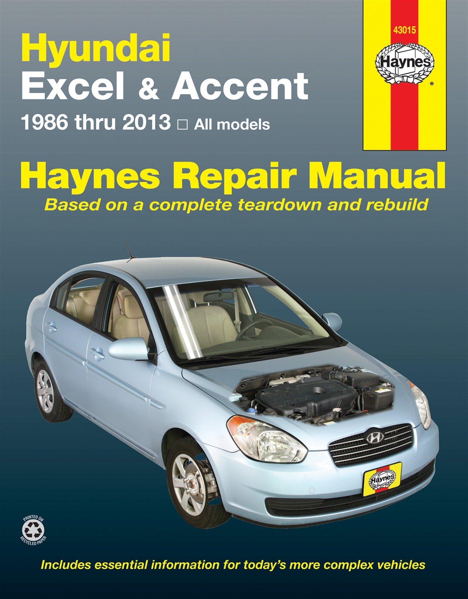 [Manuel US en Anglais] Hyundai Excel & Accent  '86 -  '13