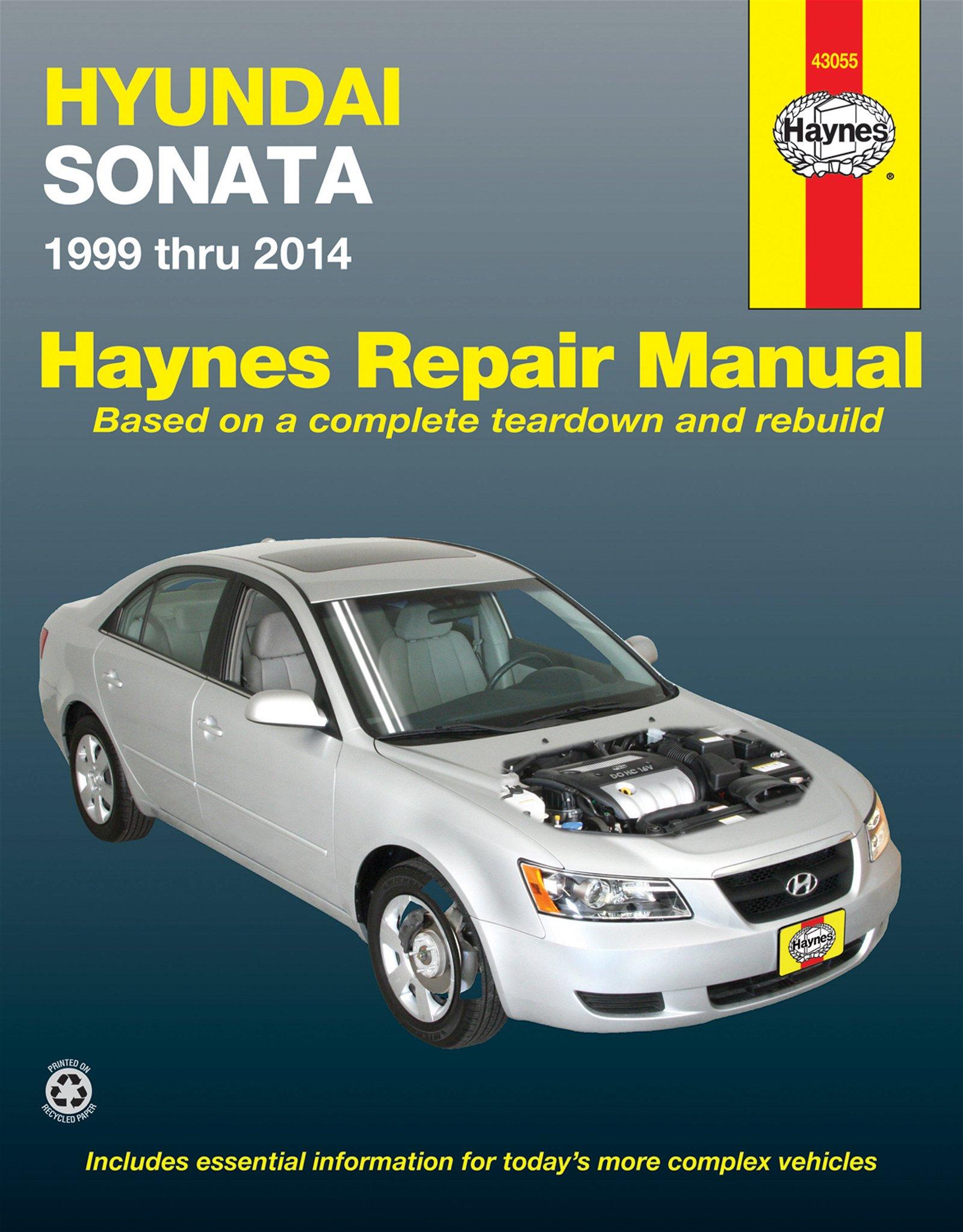 [Manuel US en Anglais] Hyundai Sonata  '99 -  '14